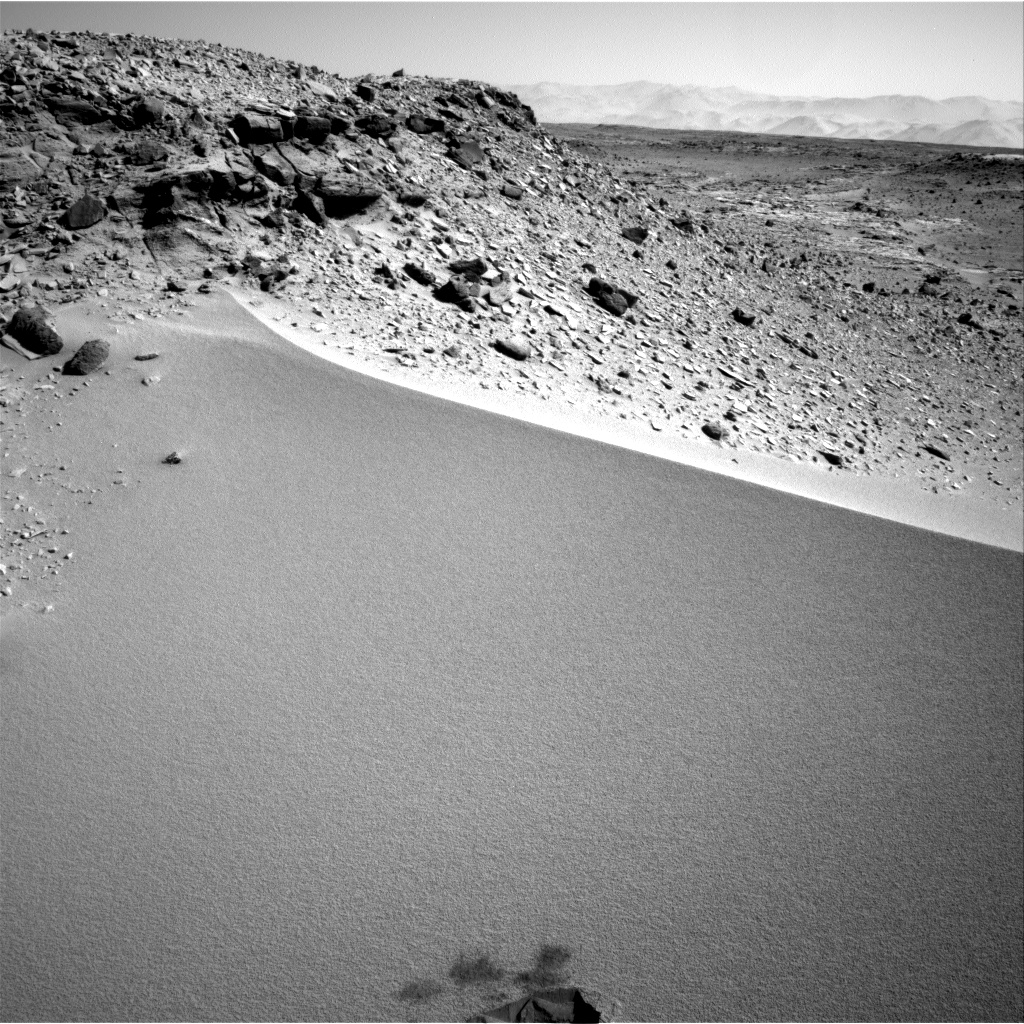 Nasa's Mars rover Curiosity acquired this image using its Right Navigation Camera on Sol 532, at drive 208, site number 26