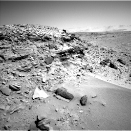 Nasa's Mars rover Curiosity acquired this image using its Left Navigation Camera on Sol 533, at drive 244, site number 26