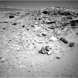 Nasa's Mars rover Curiosity acquired this image using its Right Navigation Camera on Sol 533, at drive 232, site number 26