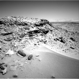 Nasa's Mars rover Curiosity acquired this image using its Right Navigation Camera on Sol 533, at drive 250, site number 26