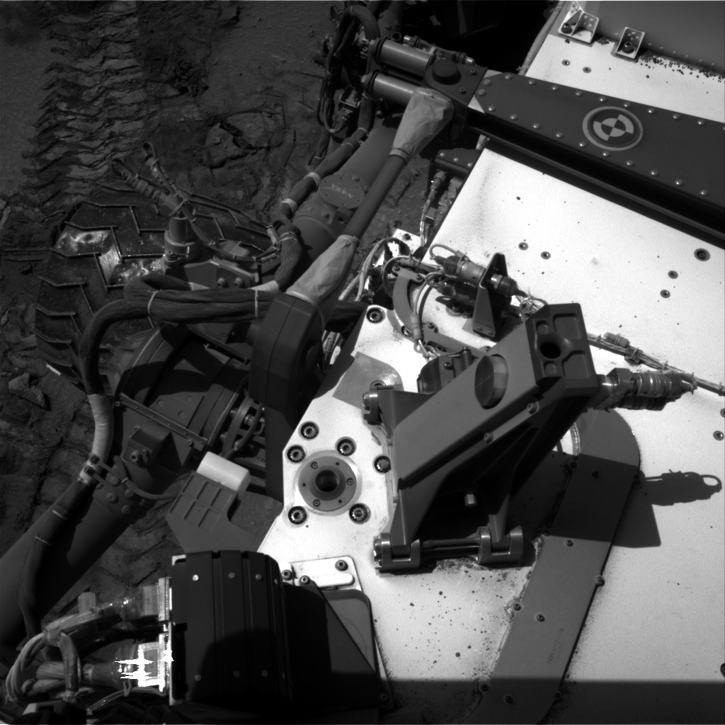 Nasa's Mars rover Curiosity acquired this image using its Right Navigation Camera on Sol 533, at drive 256, site number 26