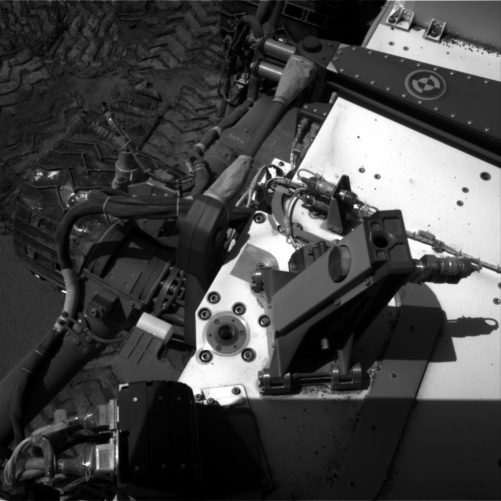 NASA's Mars rover Curiosity acquired this image using its Right Navigation Cameras (Navcams) on Sol 533