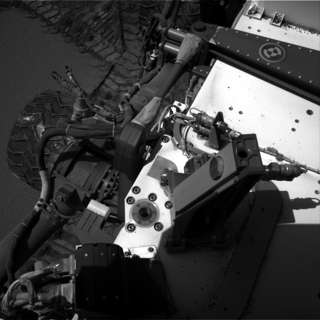 Nasa's Mars rover Curiosity acquired this image using its Right Navigation Camera on Sol 533, at drive 268, site number 26