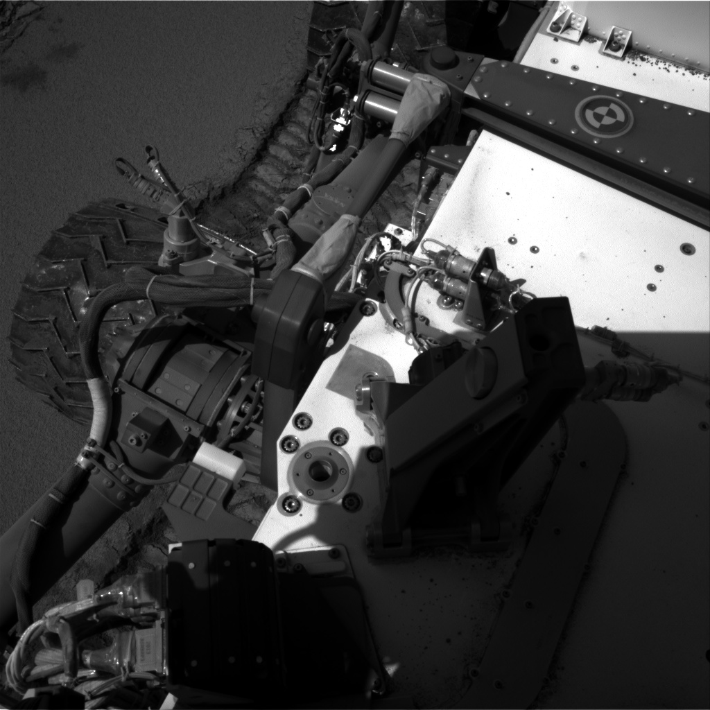Nasa's Mars rover Curiosity acquired this image using its Right Navigation Camera on Sol 533, at drive 286, site number 26