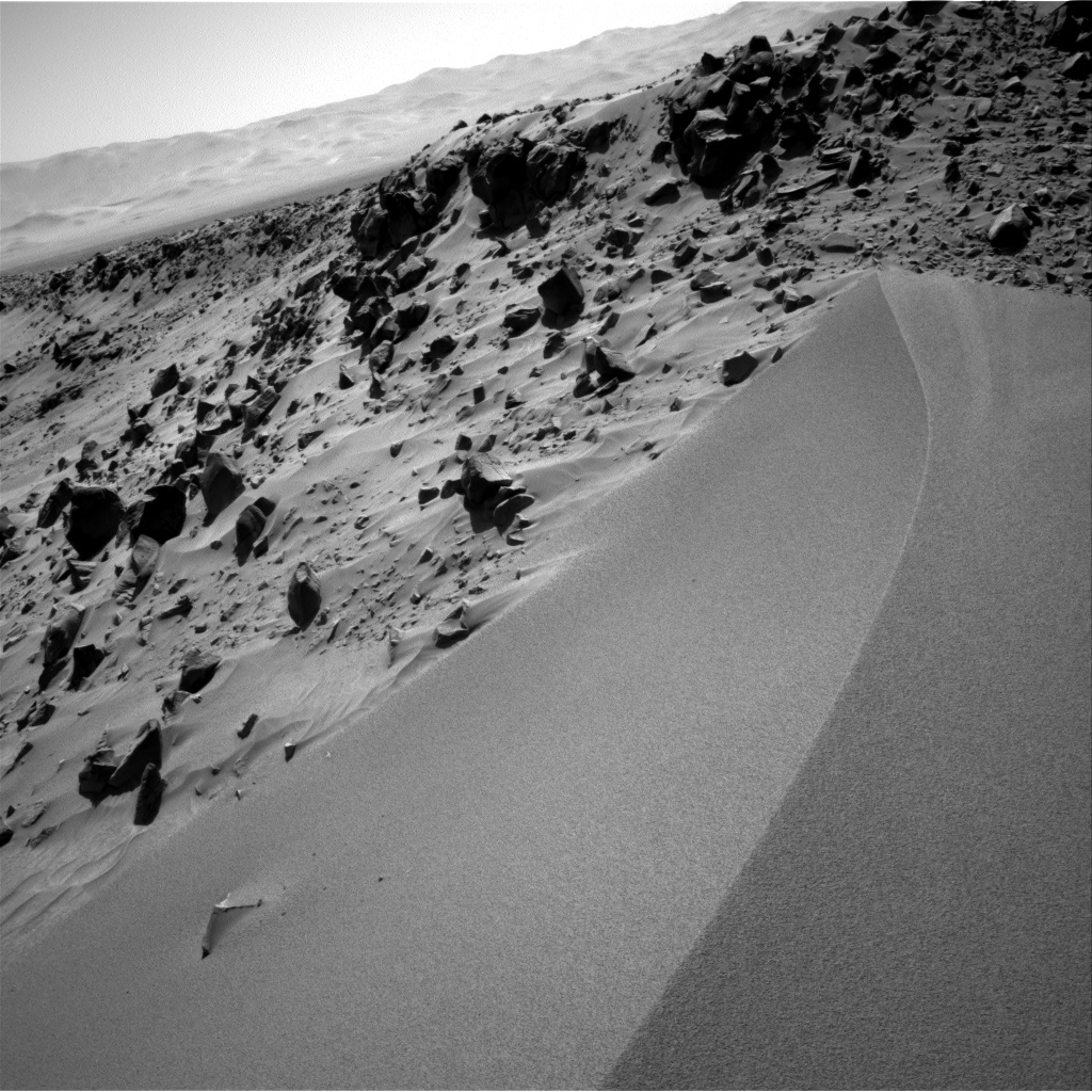 Nasa's Mars rover Curiosity acquired this image using its Right Navigation Camera on Sol 533, at drive 292, site number 26