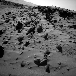 NASA's Mars rover Curiosity acquired this image using its Left Navigation Camera (Navcams) on Sol 535