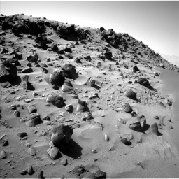 Nasa's Mars rover Curiosity acquired this image using its Left Navigation Camera on Sol 535, at drive 366, site number 26