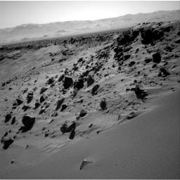 Nasa's Mars rover Curiosity acquired this image using its Right Navigation Camera on Sol 535, at drive 300, site number 26