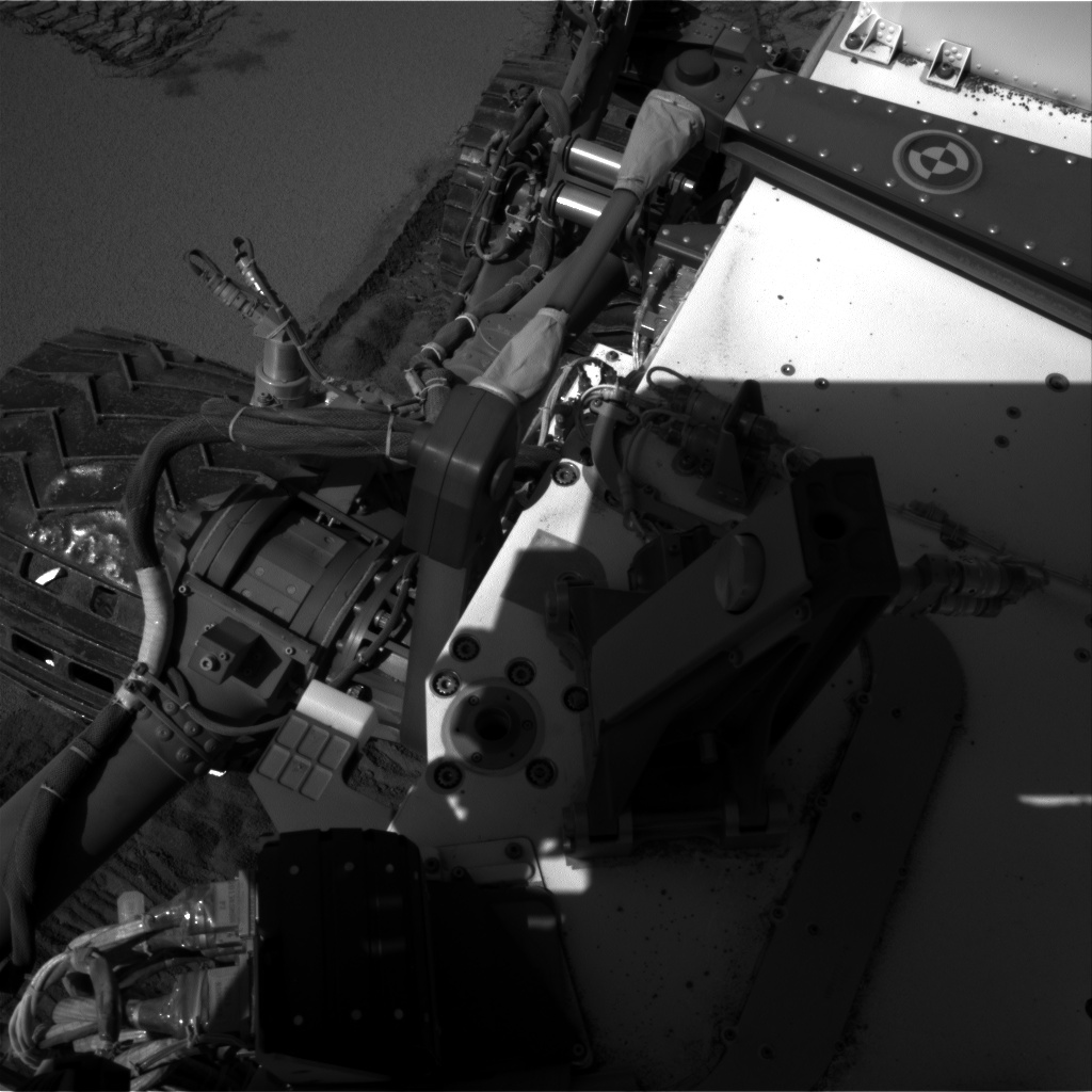 Nasa's Mars rover Curiosity acquired this image using its Right Navigation Camera on Sol 535, at drive 304, site number 26
