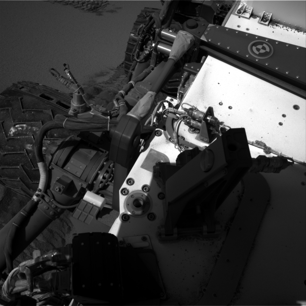 Nasa's Mars rover Curiosity acquired this image using its Right Navigation Camera on Sol 535, at drive 308, site number 26