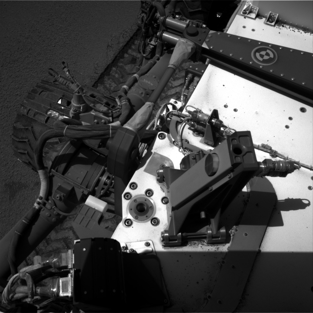 Nasa's Mars rover Curiosity acquired this image using its Right Navigation Camera on Sol 535, at drive 338, site number 26