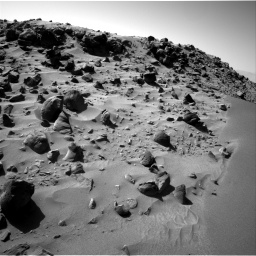 Nasa's Mars rover Curiosity acquired this image using its Right Navigation Camera on Sol 535, at drive 344, site number 26