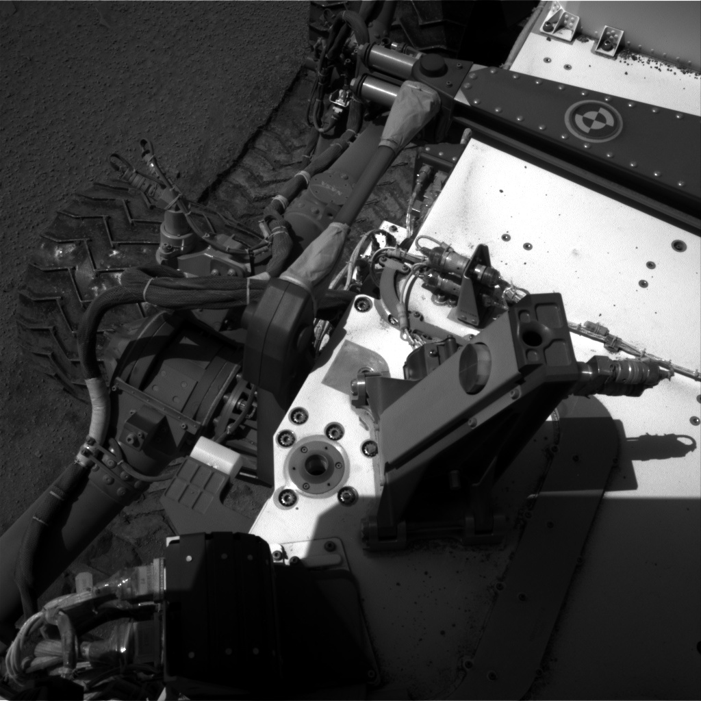 NASA's Mars rover Curiosity acquired this image using its Right Navigation Cameras (Navcams) on Sol 535