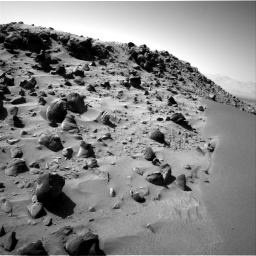 Nasa's Mars rover Curiosity acquired this image using its Right Navigation Camera on Sol 535, at drive 350, site number 26