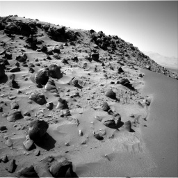 Nasa's Mars rover Curiosity acquired this image using its Right Navigation Camera on Sol 535, at drive 356, site number 26