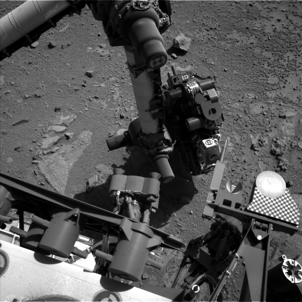 Nasa's Mars rover Curiosity acquired this image using its Left Navigation Camera on Sol 537, at drive 366, site number 26