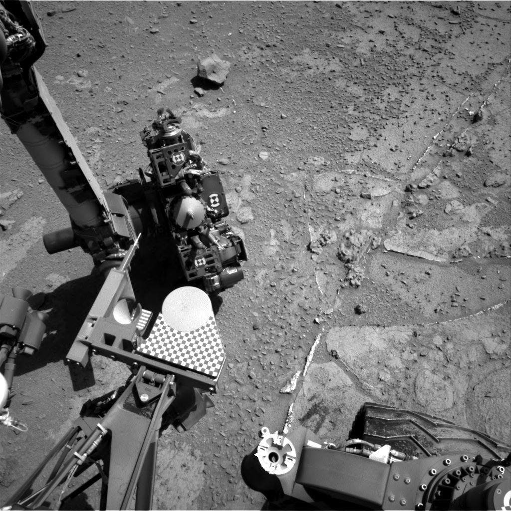 NASA's Mars rover Curiosity acquired this image using its Right Navigation Cameras (Navcams) on Sol 537