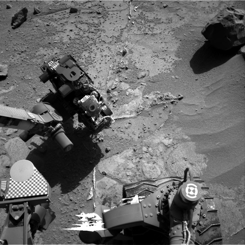 Nasa's Mars rover Curiosity acquired this image using its Right Navigation Camera on Sol 537, at drive 366, site number 26