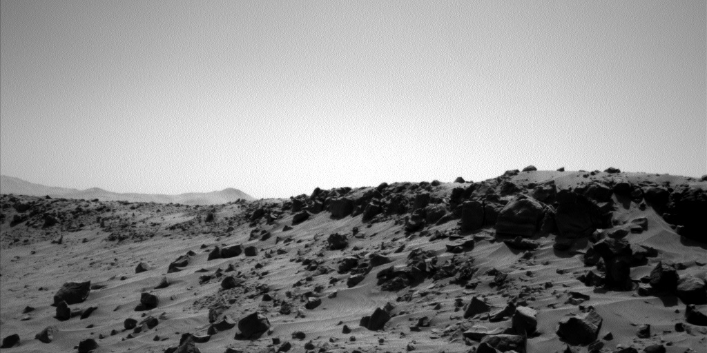 Nasa's Mars rover Curiosity acquired this image using its Left Navigation Camera on Sol 538, at drive 366, site number 26