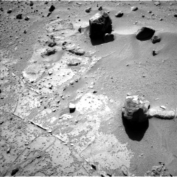 Nasa's Mars rover Curiosity acquired this image using its Left Navigation Camera on Sol 538, at drive 384, site number 26