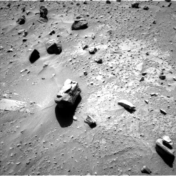 Nasa's Mars rover Curiosity acquired this image using its Left Navigation Camera on Sol 538, at drive 402, site number 26