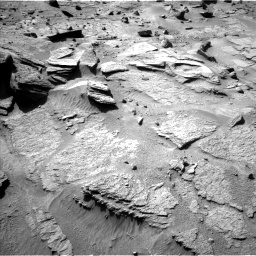 Nasa's Mars rover Curiosity acquired this image using its Left Navigation Camera on Sol 538, at drive 570, site number 26