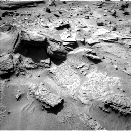 Nasa's Mars rover Curiosity acquired this image using its Left Navigation Camera on Sol 538, at drive 582, site number 26