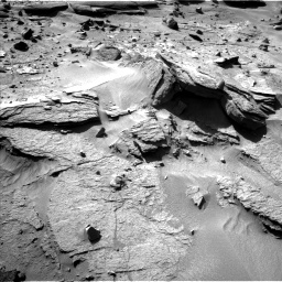 Nasa's Mars rover Curiosity acquired this image using its Left Navigation Camera on Sol 538, at drive 594, site number 26