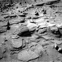Nasa's Mars rover Curiosity acquired this image using its Left Navigation Camera on Sol 538, at drive 612, site number 26