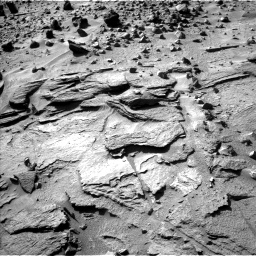 Nasa's Mars rover Curiosity acquired this image using its Left Navigation Camera on Sol 538, at drive 636, site number 26