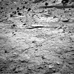Nasa's Mars rover Curiosity acquired this image using its Left Navigation Camera on Sol 538, at drive 690, site number 26