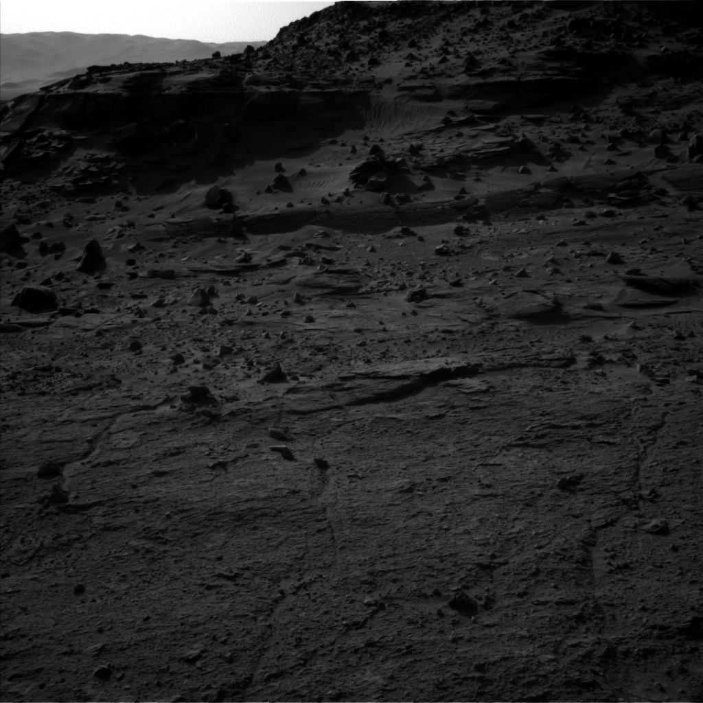 Nasa's Mars rover Curiosity acquired this image using its Left Navigation Camera on Sol 538, at drive 708, site number 26