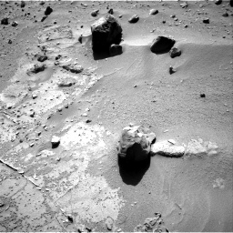 Nasa's Mars rover Curiosity acquired this image using its Right Navigation Camera on Sol 538, at drive 384, site number 26