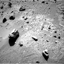 Nasa's Mars rover Curiosity acquired this image using its Right Navigation Camera on Sol 538, at drive 402, site number 26
