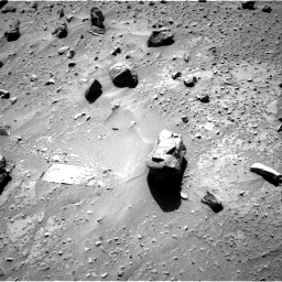 Nasa's Mars rover Curiosity acquired this image using its Right Navigation Camera on Sol 538, at drive 408, site number 26