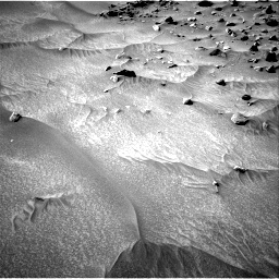 Nasa's Mars rover Curiosity acquired this image using its Right Navigation Camera on Sol 538, at drive 498, site number 26