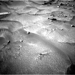 Nasa's Mars rover Curiosity acquired this image using its Right Navigation Camera on Sol 538, at drive 504, site number 26