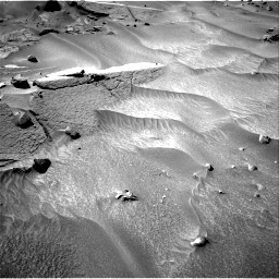 Nasa's Mars rover Curiosity acquired this image using its Right Navigation Camera on Sol 538, at drive 516, site number 26