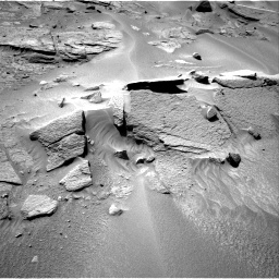 Nasa's Mars rover Curiosity acquired this image using its Right Navigation Camera on Sol 538, at drive 528, site number 26