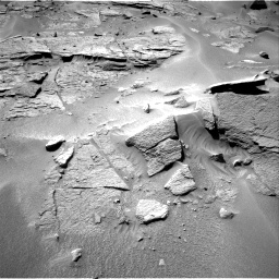 Nasa's Mars rover Curiosity acquired this image using its Right Navigation Camera on Sol 538, at drive 534, site number 26