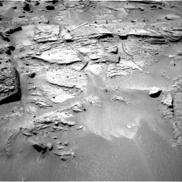 Nasa's Mars rover Curiosity acquired this image using its Right Navigation Camera on Sol 538, at drive 546, site number 26