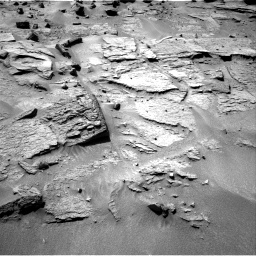 Nasa's Mars rover Curiosity acquired this image using its Right Navigation Camera on Sol 538, at drive 552, site number 26