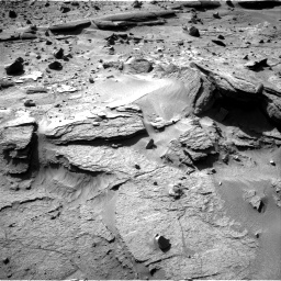 Nasa's Mars rover Curiosity acquired this image using its Right Navigation Camera on Sol 538, at drive 600, site number 26