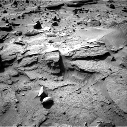 Nasa's Mars rover Curiosity acquired this image using its Right Navigation Camera on Sol 538, at drive 606, site number 26
