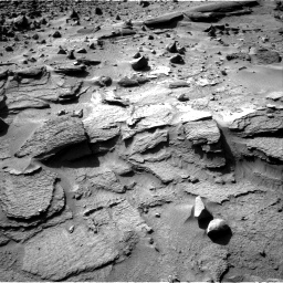 Nasa's Mars rover Curiosity acquired this image using its Right Navigation Camera on Sol 538, at drive 612, site number 26
