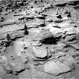Nasa's Mars rover Curiosity acquired this image using its Right Navigation Camera on Sol 538, at drive 618, site number 26
