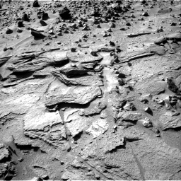 Nasa's Mars rover Curiosity acquired this image using its Right Navigation Camera on Sol 538, at drive 636, site number 26