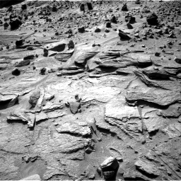Nasa's Mars rover Curiosity acquired this image using its Right Navigation Camera on Sol 538, at drive 642, site number 26