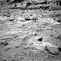 Nasa's Mars rover Curiosity acquired this image using its Right Navigation Camera on Sol 538, at drive 672, site number 26