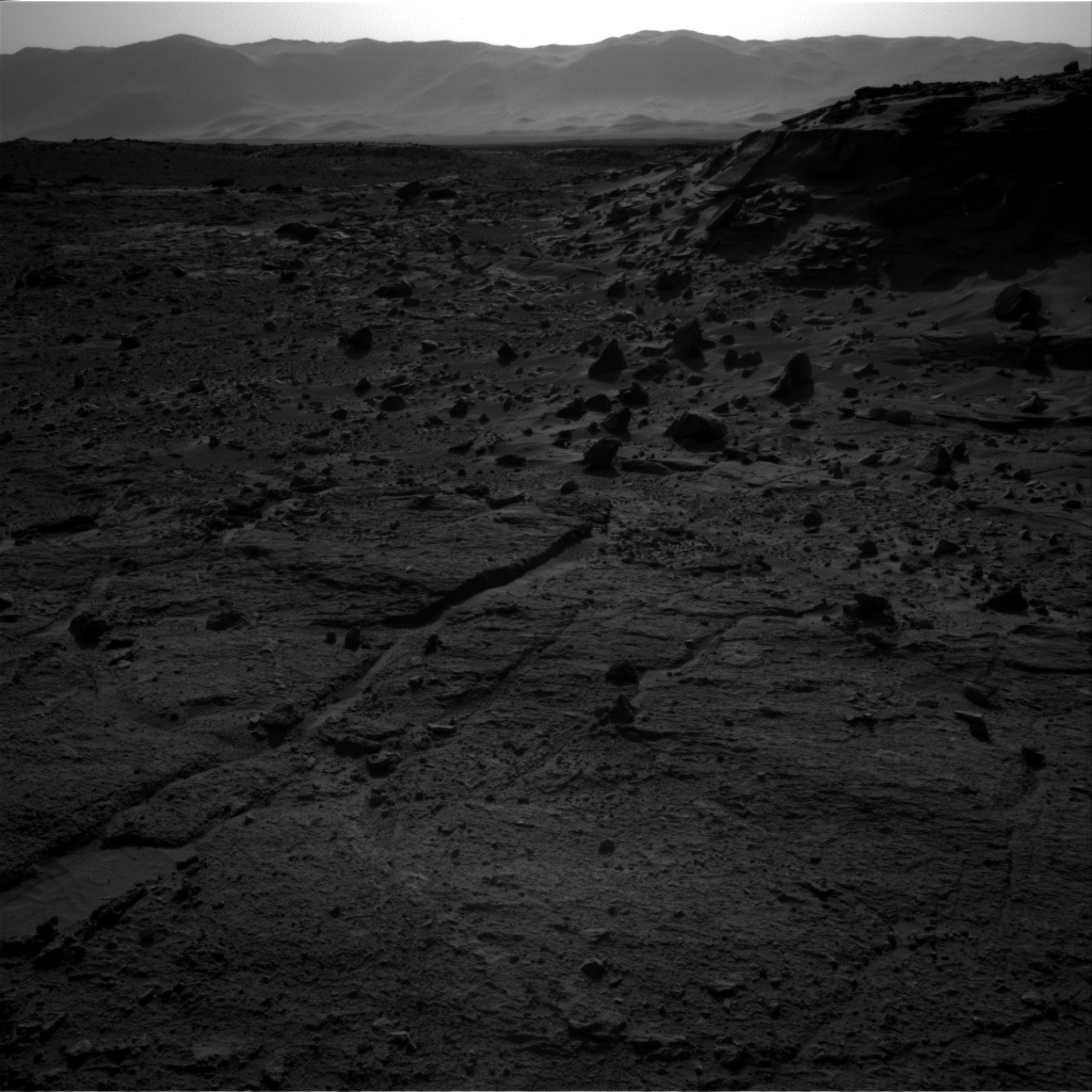 Nasa's Mars rover Curiosity acquired this image using its Right Navigation Camera on Sol 538, at drive 708, site number 26